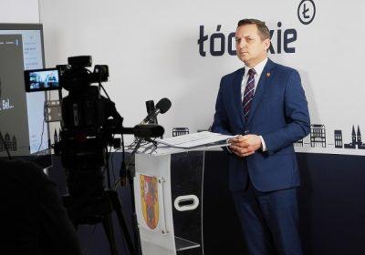 Briefing prasowy Wicemarszałka Województwa Łódzkiego