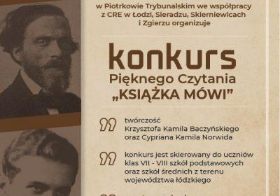 """Konkurs """"Książka Mówi"""""""
